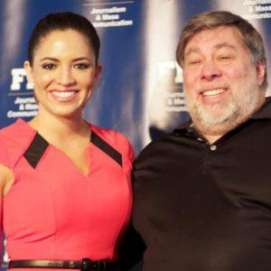 Pamela Silva Conde interviewed Woz at FIU
