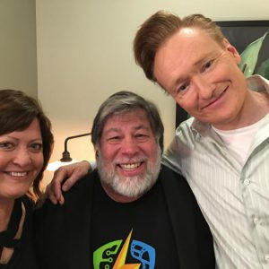Woz on Conan