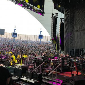 Dead Co Show at Shoreline with our friend drummer Mickey Hart